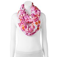 love this life Brushstroke Infinity Scarf