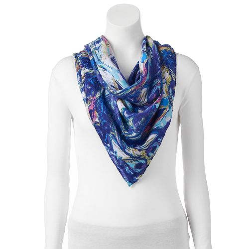 love this life Painted Square Scarf