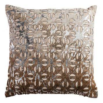 Rizzy Home Fretwork Modern Throw Pillow