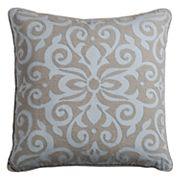 Rizzy Home Flourish Medallion Throw Pillow