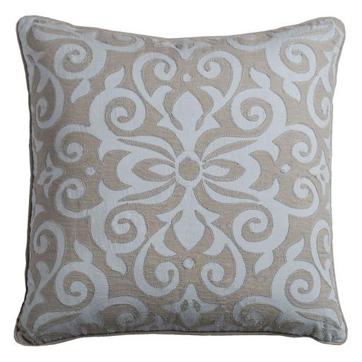 Rizzy Home Flourish Medallion Throw Pillow
