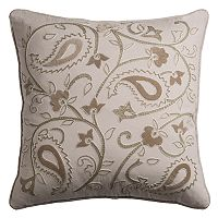 Rizzy Home Floral Vine Throw Pillow