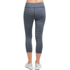 Women's Jockey Sport Stripe Capri Leggings