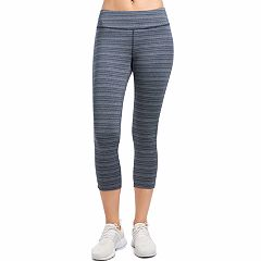 Women's Jockey Sport Stripe Capri Leggings