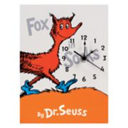 Trend Lab Dr. Seuss Fox In Socks Wall Clock