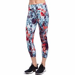 Women's Jockey Sport Spangled Capri Leggings