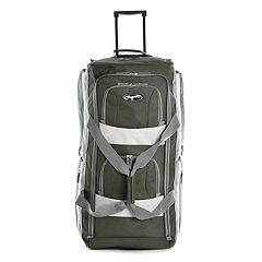 Olympia 26-Inch 8-Pocket Rolling Duffel Bag