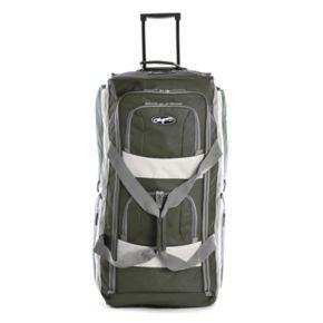 Olympia 26-Inch 8-Pocket Rolling Duffel Bag