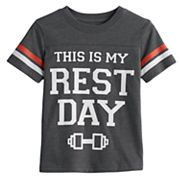 Toddler Boy Jumping Beans® 'This Is My Rest Day' Graphic Tee