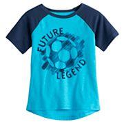 Toddler Boy Jumping Beans® 'Future Legend' Soccer Raglan Graphic Tee