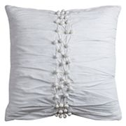 Rizzy Home Pom-Pom Throw Pillow