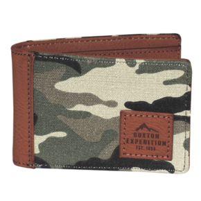 Buxton Expedition II Huntington Gear RFID Front Pocket Slimfold Wallet