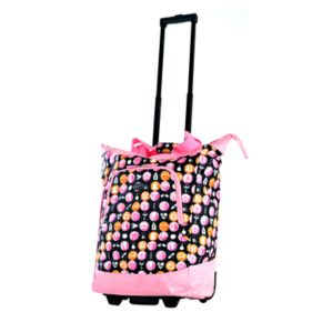 Olympia Lifesaver Rolling Shopper Tote