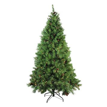 Northlight 7.5-ft. Pre-Lit Dakota Red Pine Artificial Christmas Tree