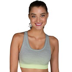 Jockey Sport Bras: Ombre Stripe Medium-Impact Sports Bra 9493