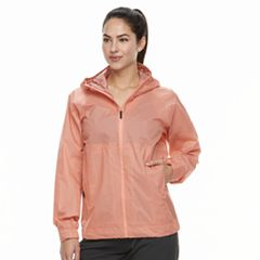Women's adidas Outdoor Fastpack 2.5-Layer climaproof Hooded Rain Jacket