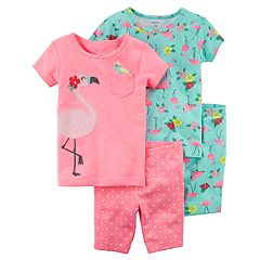 Toddler Girl Carter's Flamingo Tops & Bottoms Pajama Set