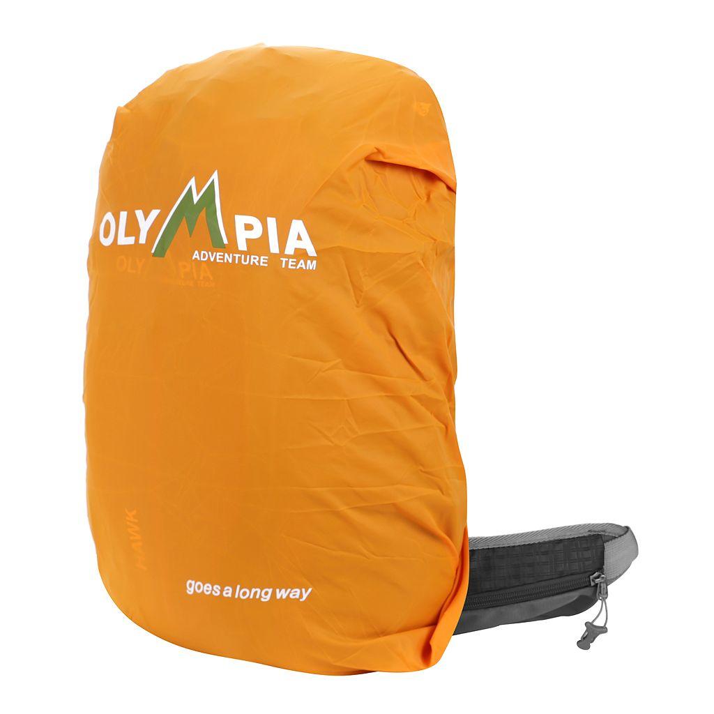 Olympia Hawk 20-in. Outdoor Backpack & Hideaway Rain Cover
