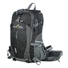 Olympia Hawk 20 in Outdoor Backpack & Hideaway Rain Cover