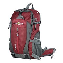 Olympia Hawk 20 in Outdoor Backpack & Hideaway Rain Cover