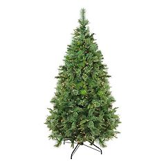 Northlight 6.5-ft. Clear Pre-Lit Cashmere Pine Artificial Christmas Tree