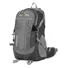 Olympia Conqueror 19-in. Outdoor Backpack & Hideaway Rain Cover