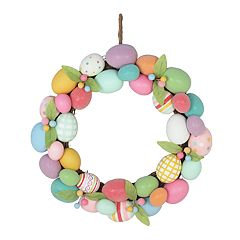 Celebrate Easter Together Artificial Egg Wreath