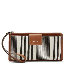 Relic Cameron Geometric Checkbook Wallet