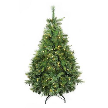 Northlight 4.5-ft. Warm Clear Pre-Lit Cashmere Pine Artificial Christmas Tree