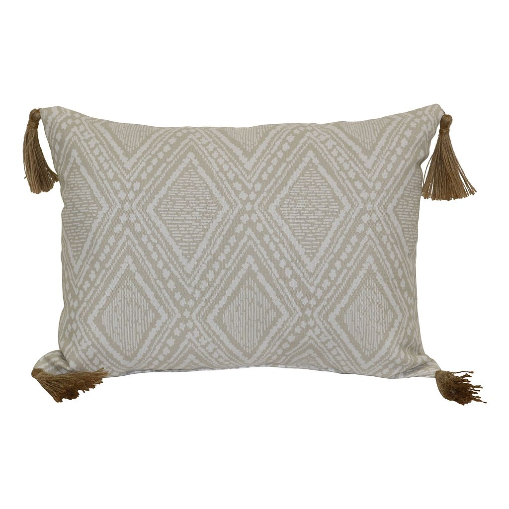 SONOMA Goods for Life™ ''Relax'' Indoor Outdoor Oblong Throw Pillow