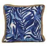 SONOMA Goods for Life™ Blue Palms Indoor Outdoor Throw Pillow