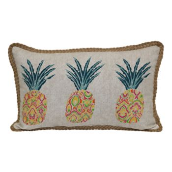 SONOMA Goods for Life? Pineapples Indoor Outdoor Oblong Throw Pillow
