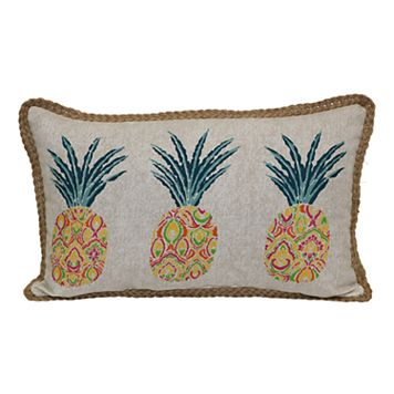 SONOMA Goods for Life™ Pineapples Indoor Outdoor Oblong Throw Pillow