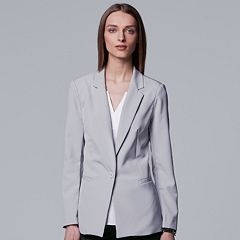Women's Simply Vera Vera Wang Notch Collar Blazer