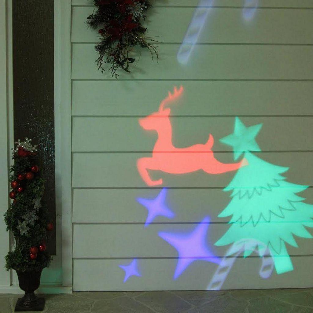 Northlight LED Christmas Projector Light & Remote 4-piece Set