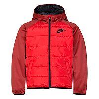 Boys 4-7 Nike Therma Fleece Quilted Jacket