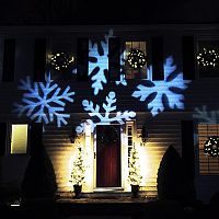 Northlight LED Snowflake Projector Light & Remote 4-piece Set