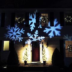 Northlight LED Snowflake Projector Light & Remote 4 pc Set