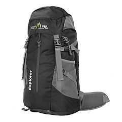 Olympia Explorer 20-in. Outdoor Backpack & Hideaway Rain Cover