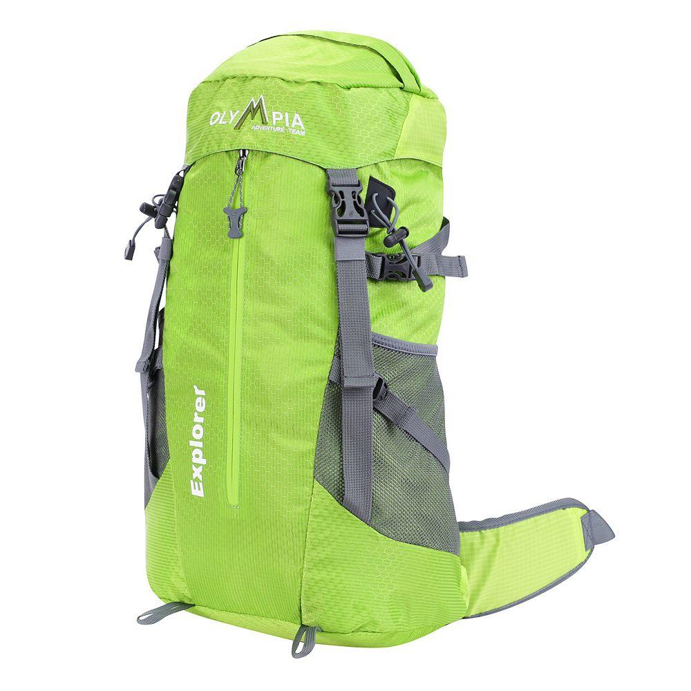 Olympia Explorer 20-in. Outdoor Backpack & Hideaway Rain Cover