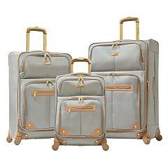 Olympia Chamonix 3 pc Expandable Spinner Luggage Set