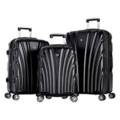 Olympia Vortex 3 pc Expandable Spinner Luggage Set