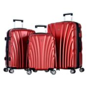 Olympia Vortex 3-Piece Expandable Spinner Luggage Set