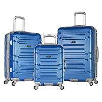 Olympia Monarch 3-Piece Expandable Spinner Luggage Set