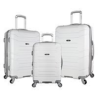 Olympia Monarch 3 pc Expandable Spinner Luggage Set