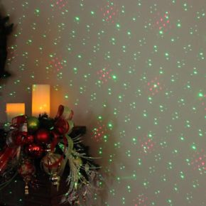 Northlight Red & Green Christmas Projector Light & Remote 4-piece Set