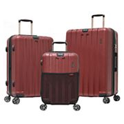 Olympia 3 pc Sidewinder Expandable Spinner Luggage Set