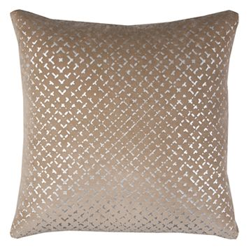 Rizzy Home Geometric Velvet Throw Pillow
