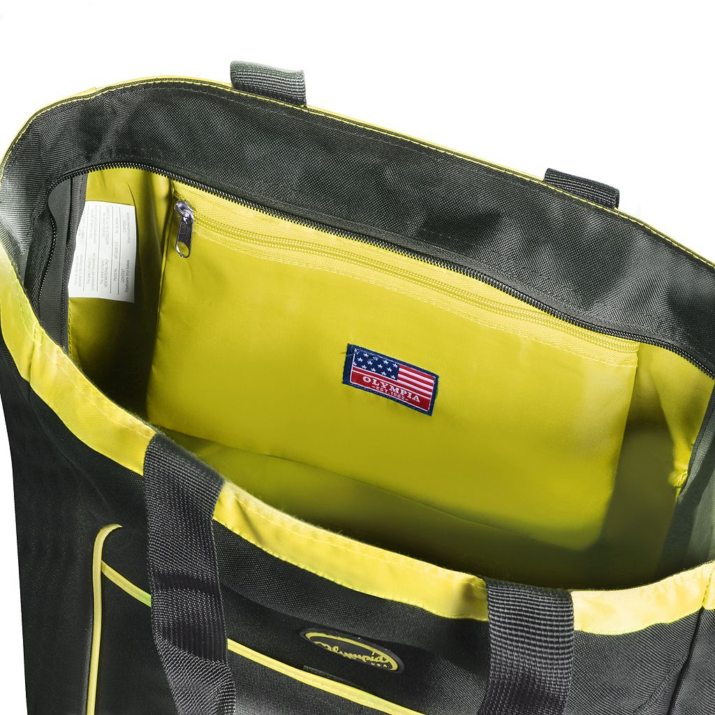Olympia Rave Rolling Shopper Tote