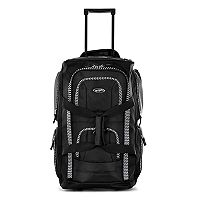 Olympia 22-Inch 8-Pocket Wheeled Duffel Bag